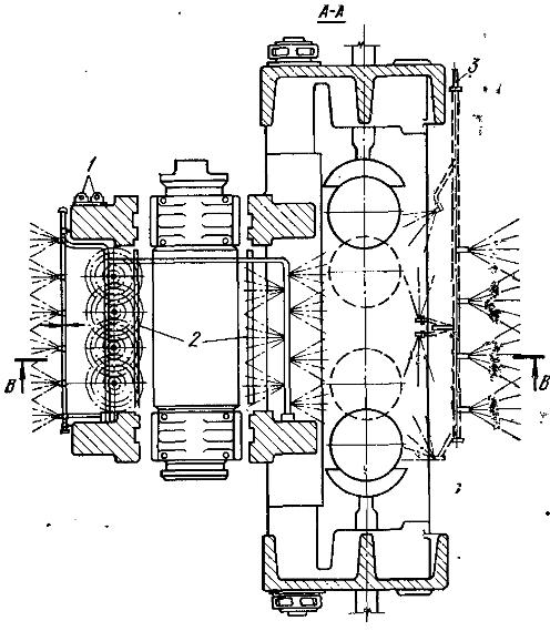 Схема гидрообеспыливания