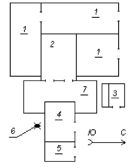 Рисунок 10.2 - Схема места
